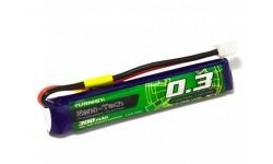 Turnigy nano-tech 1S 300mAh 3.7v 45C JST-PH
