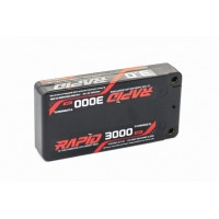 Turnigy Rapid 3000mAh 2S1P 140C Hardcase Shorty Li