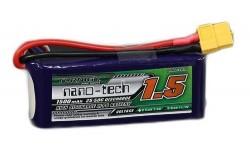 Turnigy nano-tech 1500mah 3S 25~50C Lipo