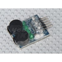Tester-Alarma Bateria 2-4S HobbyKing