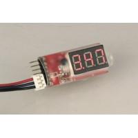 Tester Lipo 2S-6S c/Display