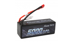 Gens ace 5000mAh 14.8V 50C 4S1P HardCase Lipo Battery14# with Deans Plug