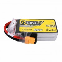 Tattu R-Line 4S 1050mAh 95C Lipo XT60