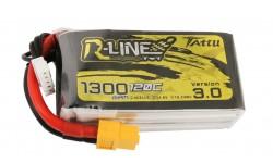 Tattu R-Line V3.0 4S 1300mAh 14.8V 120C XT60