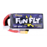 Tattu FunFly 4S 1550mAh 100C 14.8V XT60
