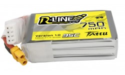 Tattu R-Line 3S 750mAh 11.1V 95C XT30