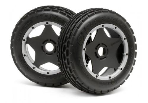 Dirt Buster Rib Tire Front Wheel Set